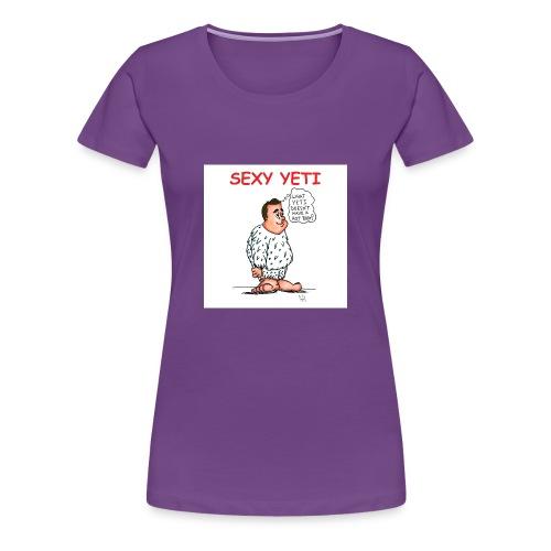 Sexy Yeti - Women's Premium T-Shirt