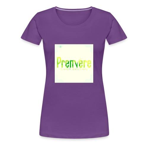 4516 Premiere Credit Solutions Logo H 01 - Women's Premium T-Shirt