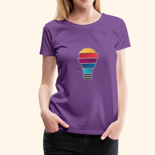 Creativity does not end - Women's Premium T-Shirt