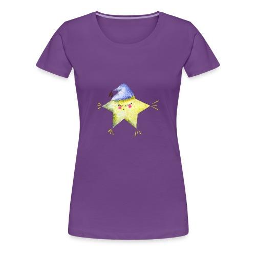 Sleepy Star with Hat - Women's Premium T-Shirt