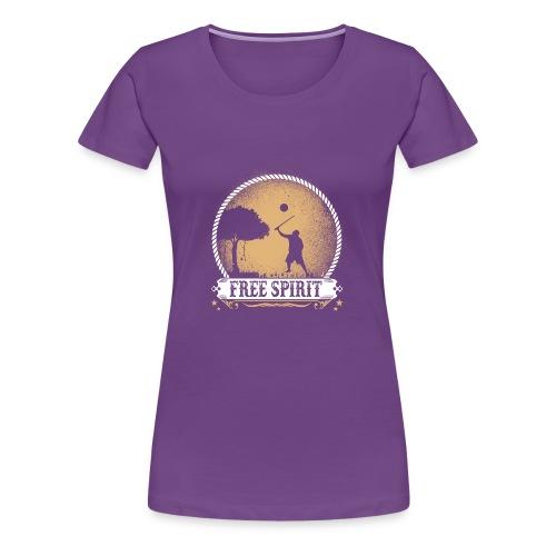 Free_spirit - Women's Premium T-Shirt