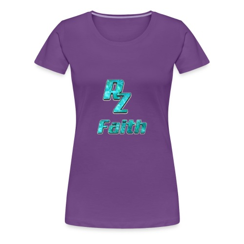 Roze faith appreal - Women's Premium T-Shirt