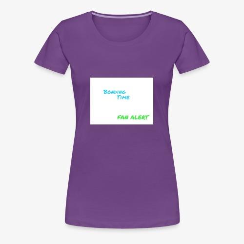 FAN ALERT - Women's Premium T-Shirt