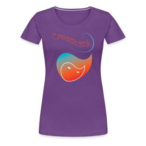 Curved Creativity - Women's Premium T-Shirt