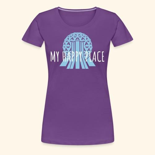 My Happy Place- Epcot - Women's Premium T-Shirt