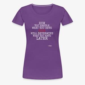Present2Future - Women's Premium T-Shirt