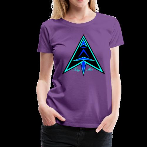 Ray Mac Logo - Women's Premium T-Shirt