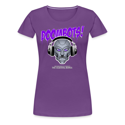DOOMBOTS (The Celestial Beings Audio Comic Book) - Women's Premium T-Shirt