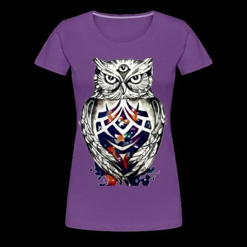 Universe Owl - Women's Premium T-Shirt