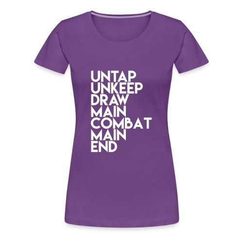 MTG Tower Phases - Women's Premium T-Shirt