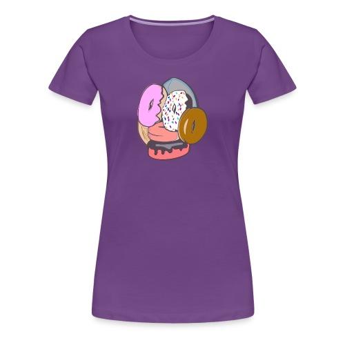 Doughnut Face - Women's Premium T-Shirt