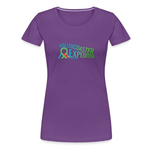 ROLLERCOASTER EXPEDITION - Women's Premium T-Shirt