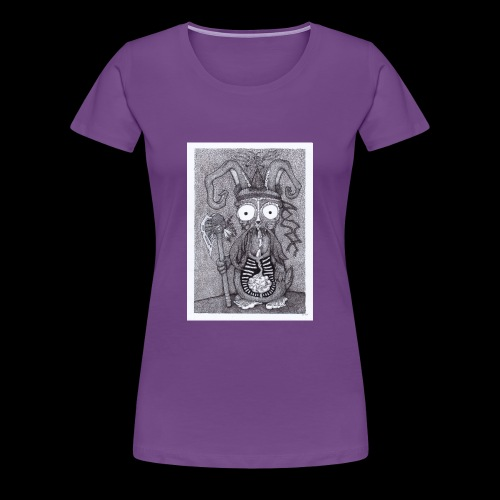 Rabbit Shaman - Women's Premium T-Shirt