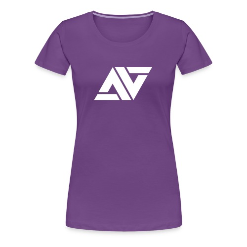 nighstky.addicts logo - Women's Premium T-Shirt