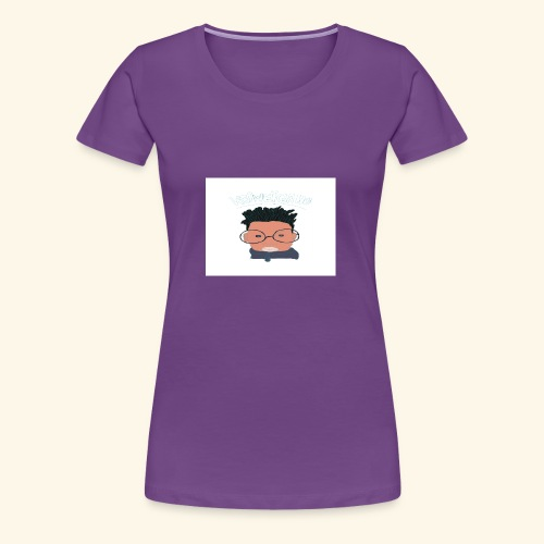 weiweigang logo edit - Women's Premium T-Shirt