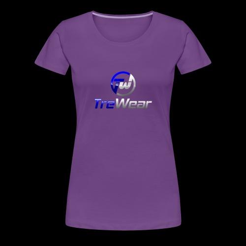 TRE Wear Logo - Women's Premium T-Shirt