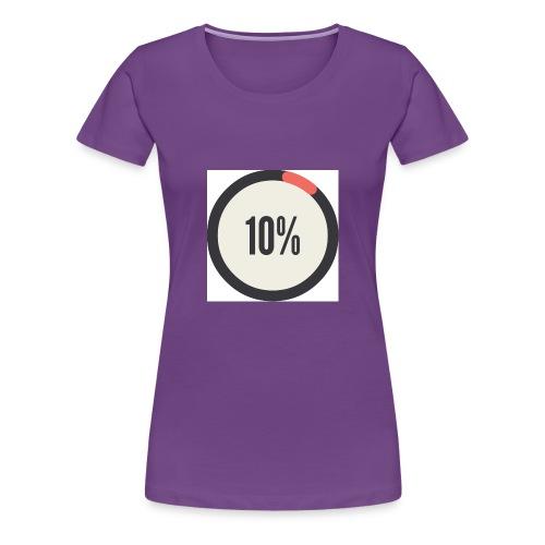 10% Album - Women's Premium T-Shirt