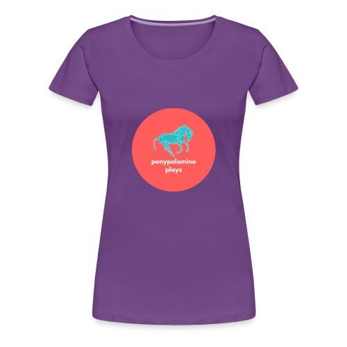 PonyPalomino - Women's Premium T-Shirt