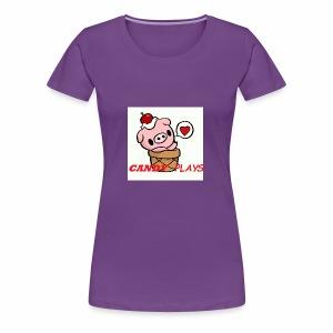 Candy Plays - Women's Premium T-Shirt
