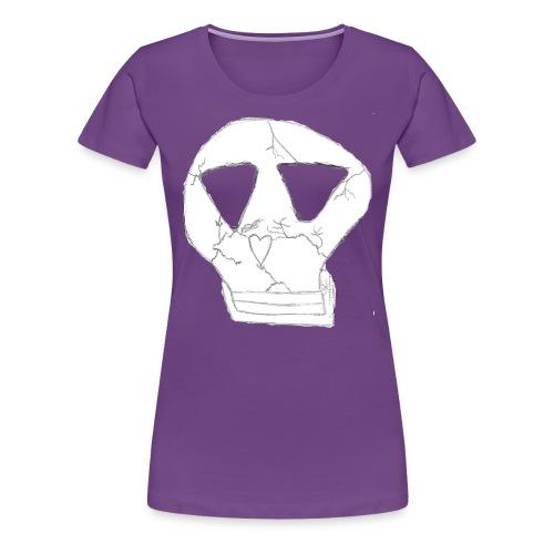 skull logo - Women's Premium T-Shirt