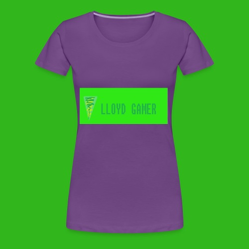 logo green - Women's Premium T-Shirt