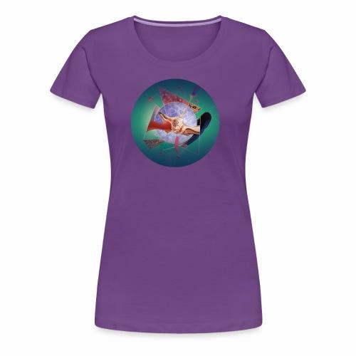 Organic network composition - Women's Premium T-Shirt