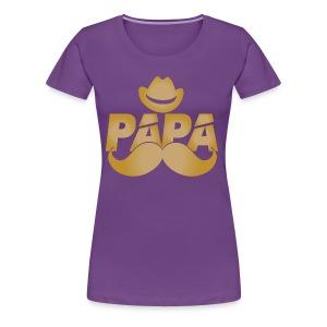 My Beloved PAPA - Women's Premium T-Shirt