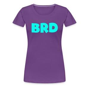 BRD light blue - Women's Premium T-Shirt