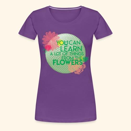 flowerandgarden - Women's Premium T-Shirt