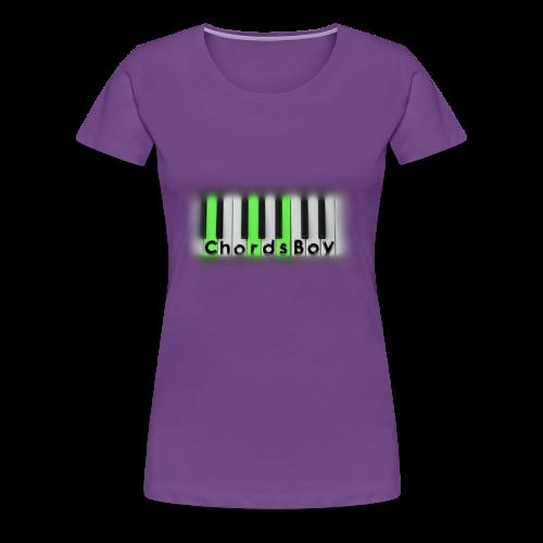ChordsBoy's Merch - Women's Premium T-Shirt