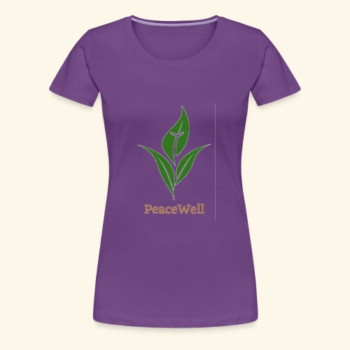 PeaceWell - Support your vendor! - Women's Premium T-Shirt