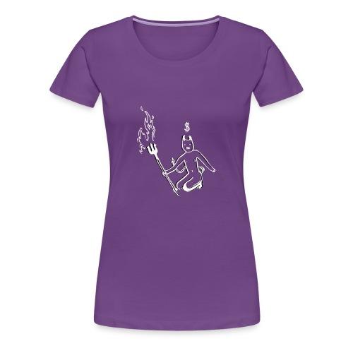 Devil - Women's Premium T-Shirt