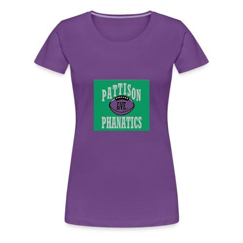 Pattison Ave Phanatic Football Logo - Women's Premium T-Shirt