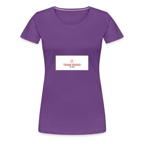 Teamswag4life - Women's Premium T-Shirt