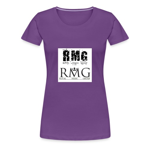 R.M.G.(Royal Music Group) - Women's Premium T-Shirt
