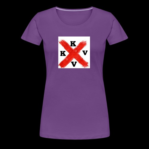 Kevs Vlogz design - Women's Premium T-Shirt
