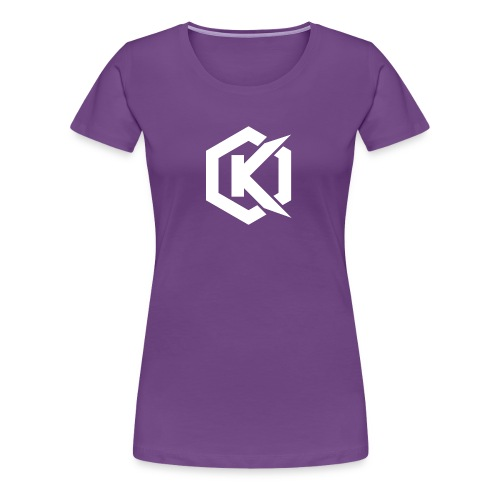 Logo de Kunsel sur Twitch et Ylutube - Women's Premium T-Shirt
