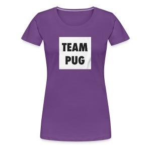 Pug Lover - Women's Premium T-Shirt
