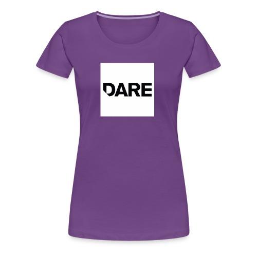 Dare logo - Women's Premium T-Shirt