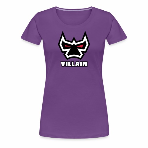Villain - Women's Premium T-Shirt