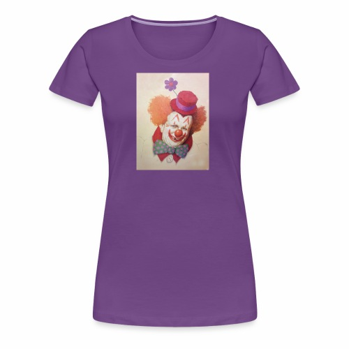 Old Clown Full - Women's Premium T-Shirt