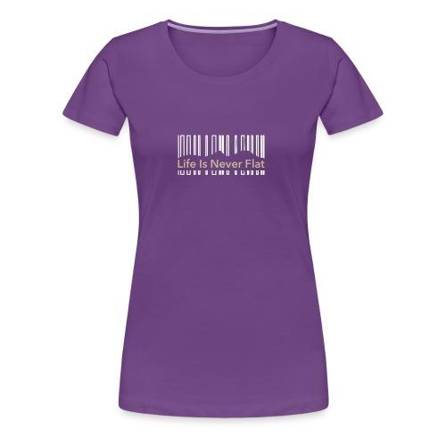 li is never flat - Women's Premium T-Shirt