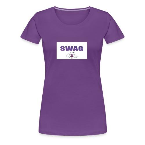 281742 SWAGGAH gloves universe stars dope - Women's Premium T-Shirt