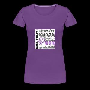 pan cancer aware - Women's Premium T-Shirt