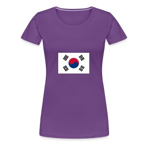 Flag of South Korea - Women's Premium T-Shirt
