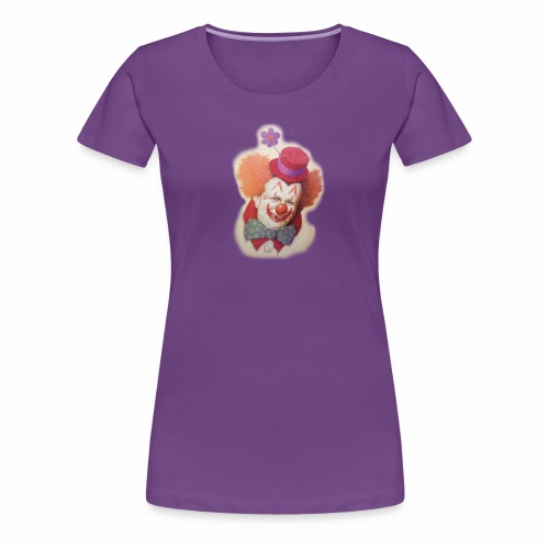 Old Clown - Women's Premium T-Shirt