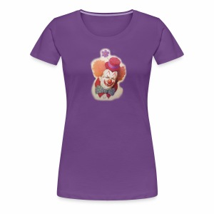 Old Clown - Women's Premium T-Shirt