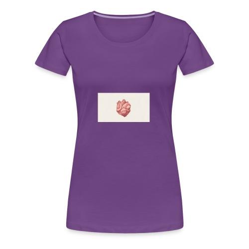 digital art heart art background 103910 1920x1080 - Women's Premium T-Shirt