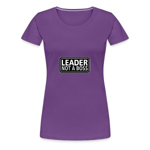 Leader - Women's Premium T-Shirt