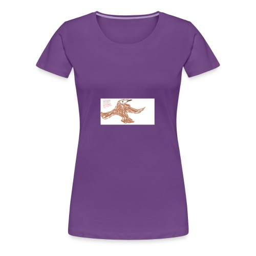 Soaring thru Prayer - Women's Premium T-Shirt